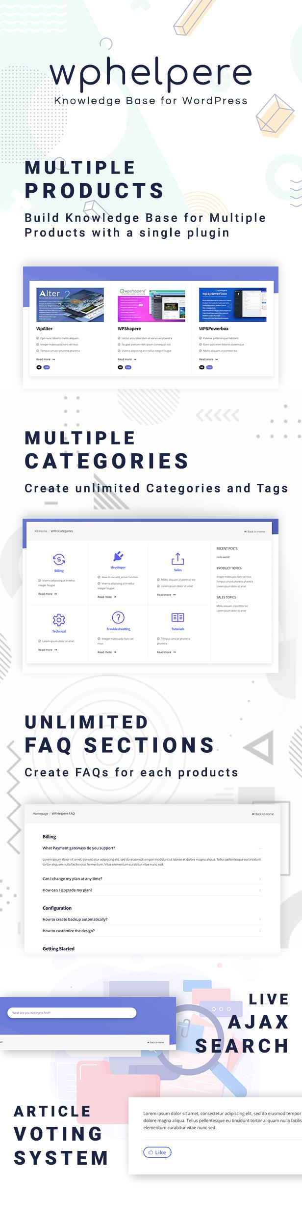 WPHelpere Features